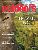 Elevation Outdoors 2013 March cover